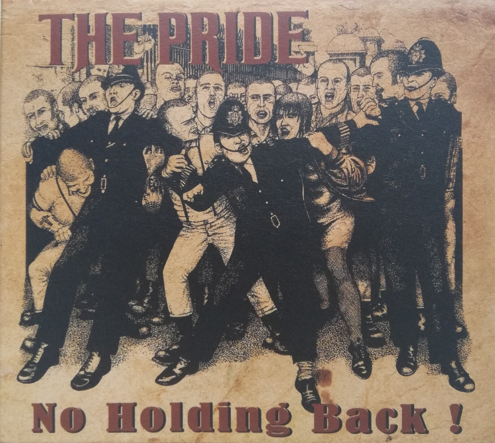 """The Pride """"No Holding Back !"""""""
