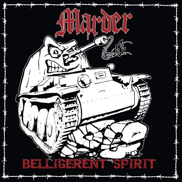 Marder ‎– Belligerent Spirit