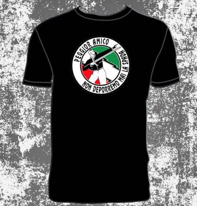 Peggior Amico – Non Deporremo Mai La Spada – T-shirt